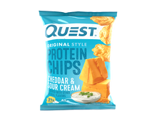 Load image into Gallery viewer, Quest - Protine Chips, Cheddar & Sour Cream