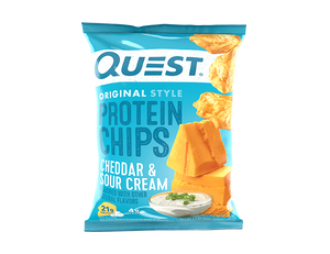 Quest - Protine Chips, Cheddar & Sour Cream