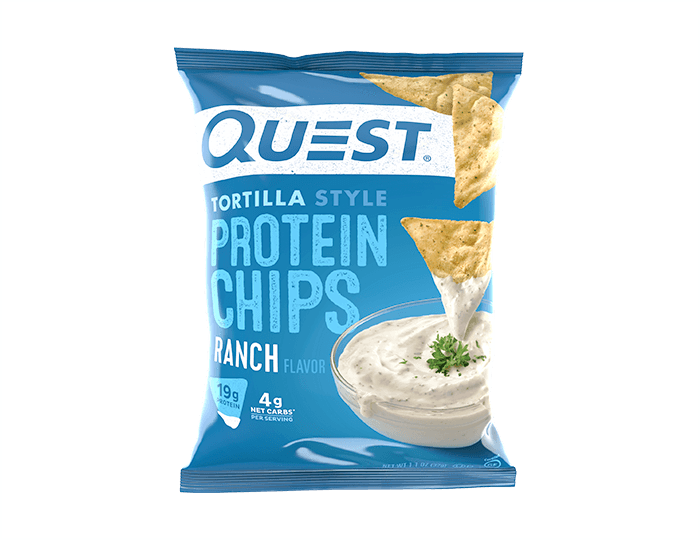 Quest Tortilla Protein Chips - Ranch
