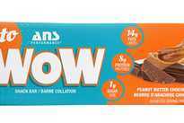 ANS Keto Wow Bar Peanut Butter Chocolate