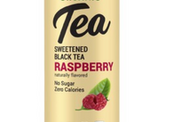 Zevia Organic Tea - Sweetened Black Tea - Raspberry
