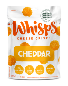 Whisps - Cheddar Cheese Crisps 60g