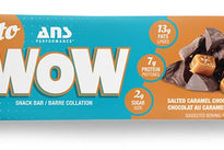 ANS Keto Wow Bar Salted Caramel Chocolate