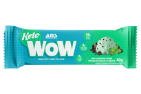 ANS Keto Wow Bar Mint Chocolate Chunk