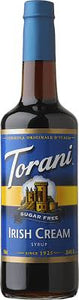 Torani Sugar Free Syrup - Irish Cream