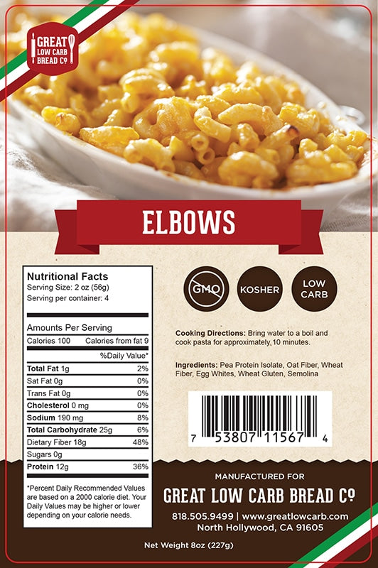 Great Low Carb Company - Elbow Pasta