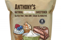 Anthony's Natural Erythritol Sweetner, 2.5lb