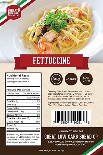 Great Low Carb Company - Fettuccini