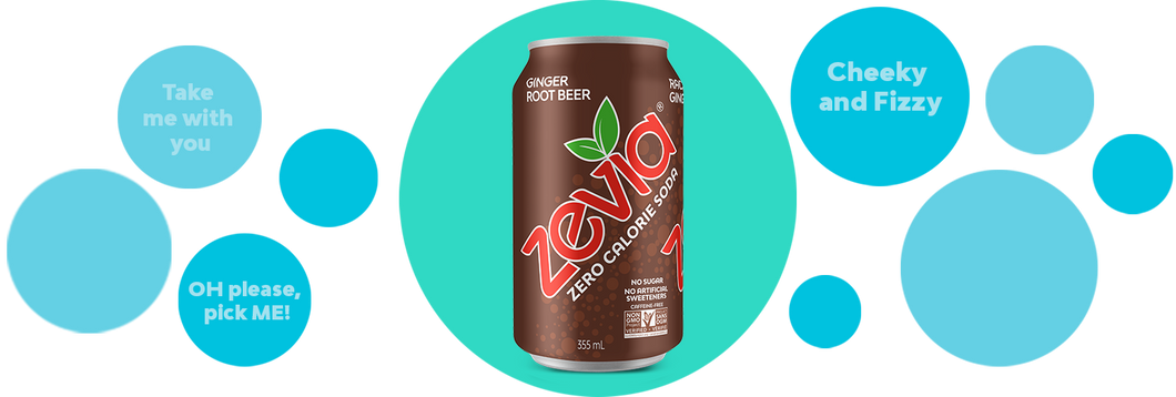 Zevia - Ginger Root Beer