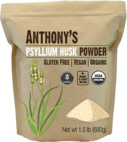 Anthony's Psyllium Husk Powder, 1.5 lbs