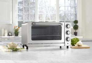 Cuisinart TOB-60N1 Convection Toaster Oven With Broiler 6 Slice 1800W - Stainless Steel