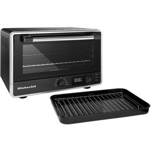 KitchenAid KCO211BM Digital Convection Toaster Oven 1800W - Matte Black