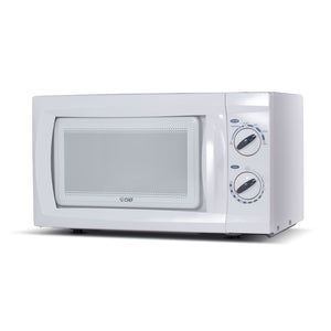Commercial Chef CHM660W Countertop Microwave 600W Rotary - White