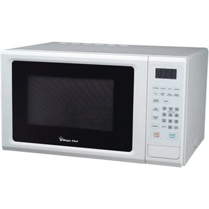 Magic Chef MCM1110W Countertop Microwave 1000W Digital Touch - White