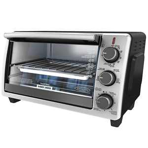 Black & Decker TO1950SBD Convection Toaster Oven 6-Slice 1350W - Black