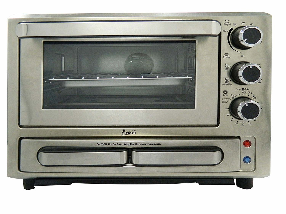 Avanti  PPO84X3S-IS Convection Pizza Oven Toaster - Stainless Steel