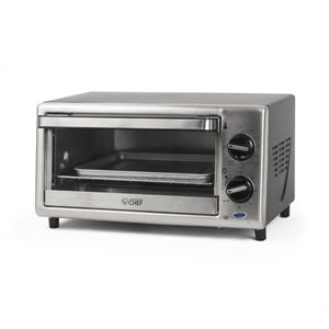 Commercial Chef CHTO2010S Countertop Toaster Oven 4-Slice - Stainless Steel
