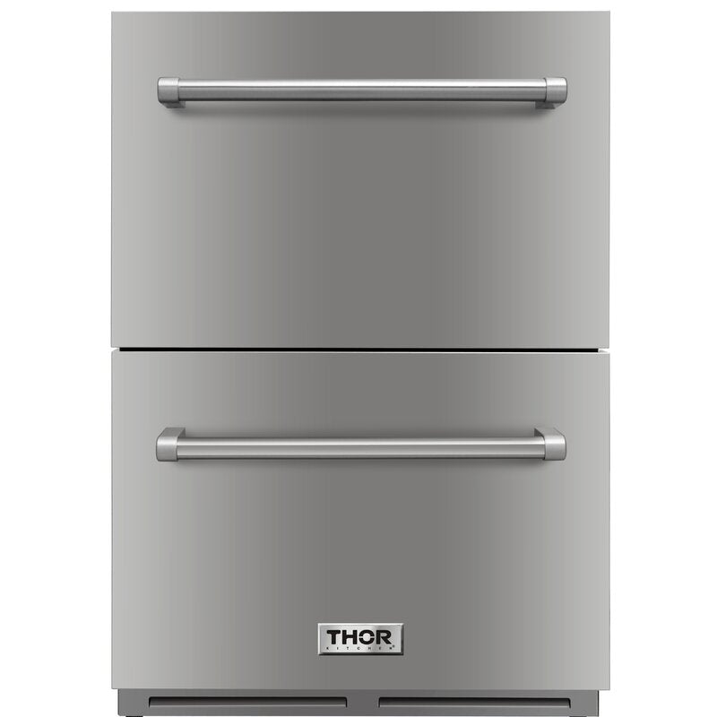 Thor 24 in. TRF2401U Drawer Refrigerator Stainless Steel.