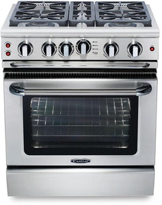 "Capital GSCR304 Precision 30"" Gas Self Clean Range 4 Sealed Burners With 4.1 Cu. Ft. Oven"