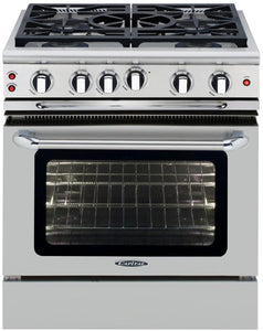 "Capital GSCR305 Precision 30"" Self Clean Gas Range 5 Sealed Burners With 4.1 Cu. Ft. Oven"