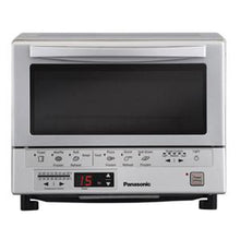 Panasonic NB-G110P 1300W Compact Toaster Oven With Double Infrared Heating - Silver