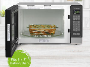 Panasonic NN-SN686SR Countertop Microwave Inverter Technology 1200W