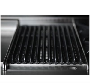 "Capital COB484BG Connoisseurian 48"" Dual Fuel Self Clean Range 4 Open Burners With 5.4 Cu. Ft. Convection Oven + 12"" BBQ Grill, 12"" Griddle"