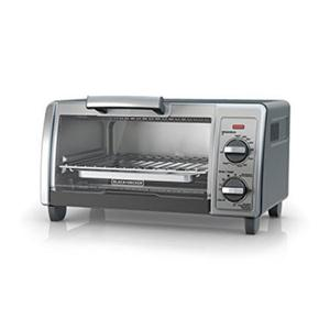 Black & Decker TO1705SG Convection Toaster Oven 4-Slice - Black