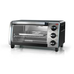 Black & Decker TO1750SB Convection Toaster Oven 4-Slice - Black