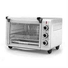 Black & Decker TO3215SS Crisp 'N Bake Air Fry Convection Toaster Oven 6-Slice 1500W - Silver