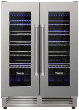 Thor TWC2402 Dual Zone Built-in Wine Cooler 42 Bottle