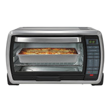 Oster TSSTTVMNDG-001 Digital Toaster Oven With Broiler And Temperature Control 1300W Large - Black