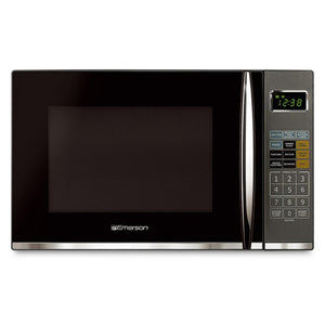 Emerson MWG9115SB Countertop 1100W Microwave With Grill - Stainless Steel