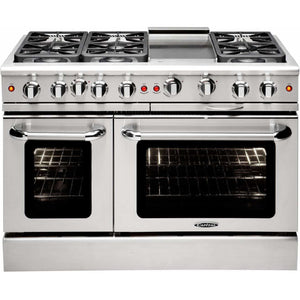 "Capital Ranges Capital Precision 48"" Freestanding Natural Gas Range MCR486GN"