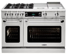 "Capital CSB484GG Connoisseurian 48"" Dual Fuel Self Clean Range 4 Sealed Burners With 5.4 Cu. Ft. Oven + 24"" Thermo-Griddle"