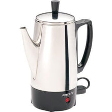 Presto 02822 6 Cup Coffee Maker - Stainless Steel