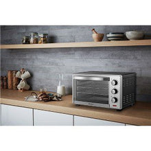 Emerson ER101003 Convection & Rotisserie Convection Toaster Oven 6 Slice 1380W - Stainless Steel