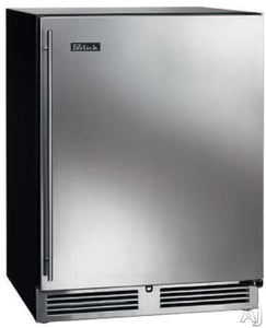 Perlick HP24FS-3-2L 24in Built-in Undercounter Freezer With Fully Integrated Door 5.2 Cu. Ft.