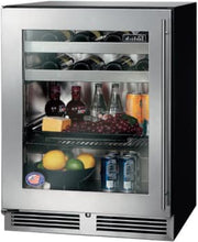 Perlick HA24BB-3-4L 24-Inch ADA-Compliant Beverage Center 16 Wine Bottle Capacity With Panel Ready Glass Door - 4.8 Cu. Ft.