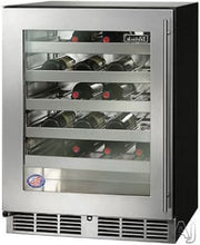 Perlick HA24WB-3-3L 24in ADA Compliant Built-in Undercounter Wine Reserve 40 Bottle Capacity 4.8 Cu. Ft.