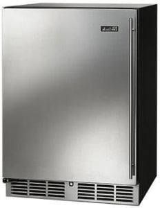 Perlick HC24RO-3-1L 24-Inch Built-In Undercounter Outdoor Refrigerator With Stainless Steel Door - 5.2 Cu. Ft.