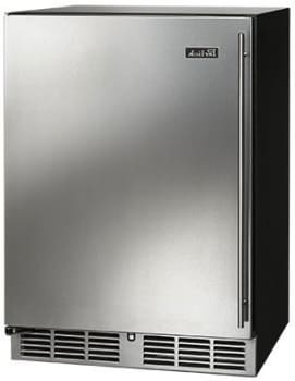 Perlick HC24RO-3-2L 24-Inch Built-In Undercounter Outdoor Refrigerator With Panel Ready Door - 5.2 Cu. Ft.