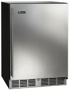 Perlick HC24RB-3-1L  24-Inch Built-In Undercounter Refrigerator With Stainless Steel Door - 5.2 Cu. Ft.
