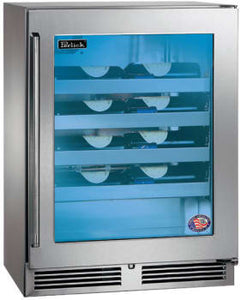 Perlick HH24WS-3-3L 24in Built-in Counter Depth Wine Reserve 20 Bottle Capacity 3.1 Cu. Ft.