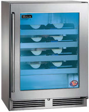 Perlick HH24WS-3-4L 24in Built-in Counter Depth Wine Reserve 20 Bottle Capacity 3.1 Cu. Ft.