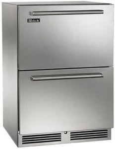 Perlick HA24FB-3-6  24 Inch ADA Compliant Built-in Undercounter Freezer Drawers With Panel Ready Door 4.8 Cu. Ft.