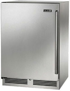 Perlick HP24RS-3-2L 24-Inch Built-In Undercounter Refrigerator With Fully Integrated Door - 5.2 Cu. Ft.