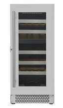 Cavavin V-024WDZ 15-Inch Built-In/Freestanding Wine Cooler 24 Bottles Capacity - Dual Zone