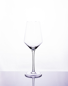 Cavavin CAV-D056 4-Piece Crystal Riesling Glass Set- 380ML