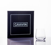 Cavavin CAV-0049 4-Piece Crystal Whiskey Glass Set - 340ML